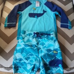 6-12 month baby boy swim